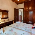 The Twin Bedroom at Villa Edem in Kassiopi Corfu Greece